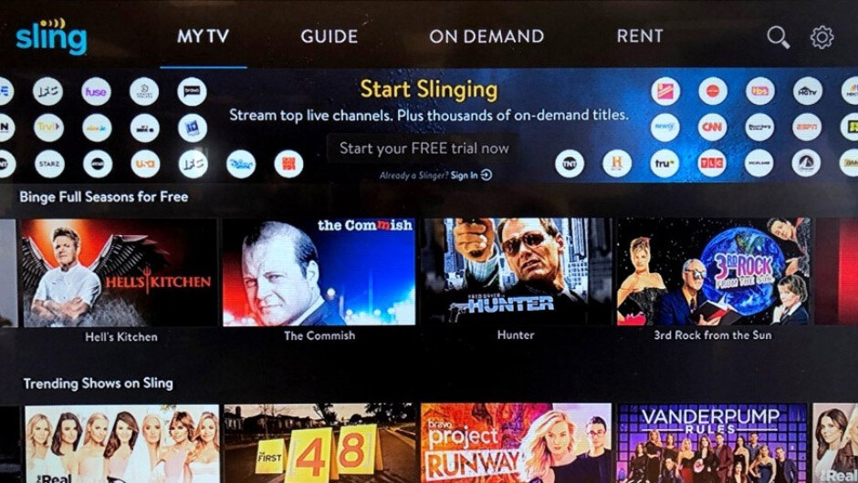Android users don't need to pay a dime or create an account to stream Sling TV content now