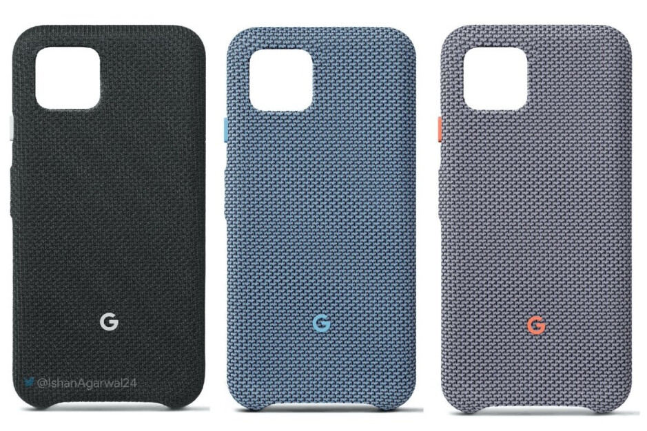 Leaked Google Pixel 4 Fabric Cases - Google Pixel 4 will reportedly be much cheaper than Pixel 3 in Europe