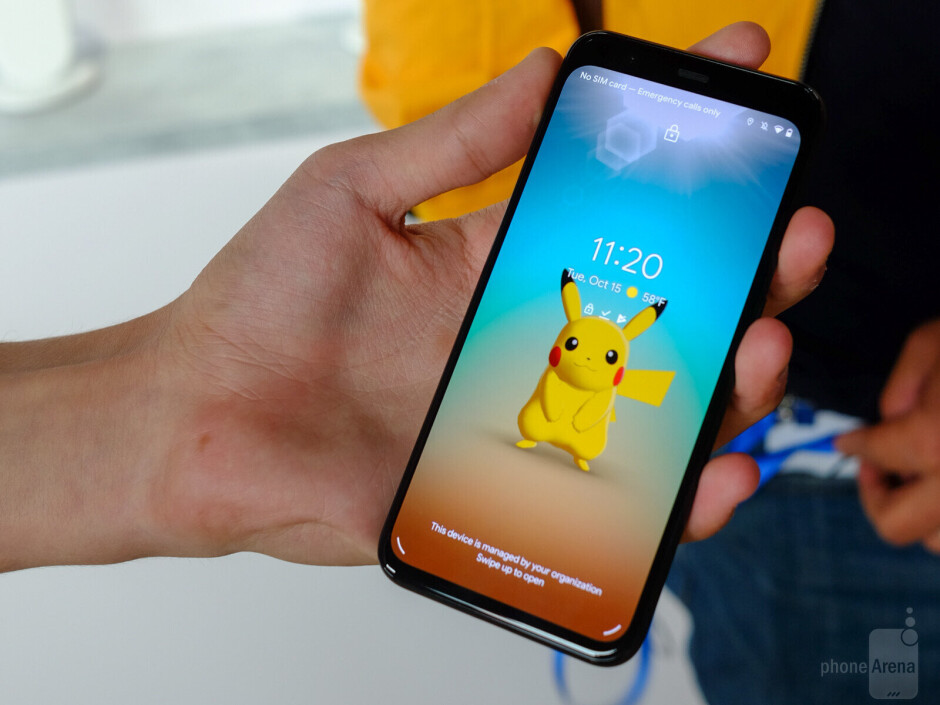 If you wave at Pikachu on the Pixel 4, he'll wave back! - Google Pixel 4 & Pixel 4 XL hands-on