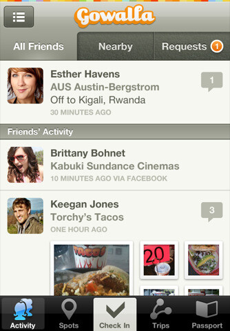 Gowalla for iPhone adds multi-network check-ins, improved UI, and more