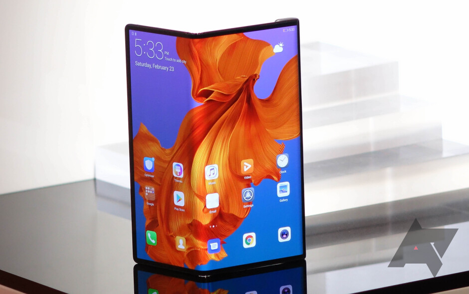 The foldable Huawei Mate X could launch soon, but might not be shipped outside of China - Despite U.S. supply chain ban, Huawei continues to grow handset shipments