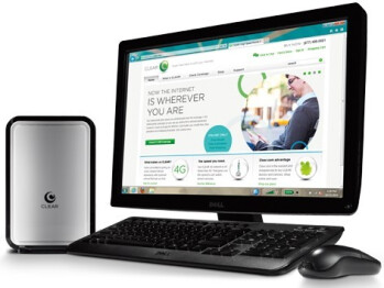 Clearwire WiMAX router