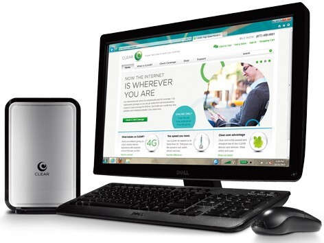 Clearwire WiMAX router - Clearwire to launch the Samsung Notion smartphone, outs a WiMAX router