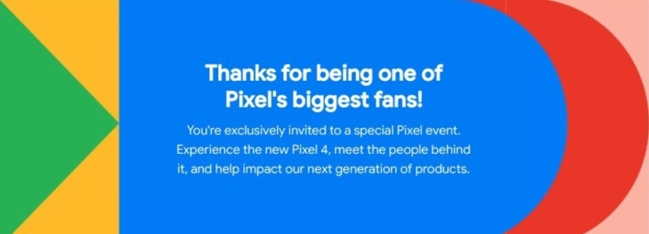 Google is inviting 'Pixel's biggest fans' to a special event to be held this Monday - Google to hold a special event for Pixel's biggest fans