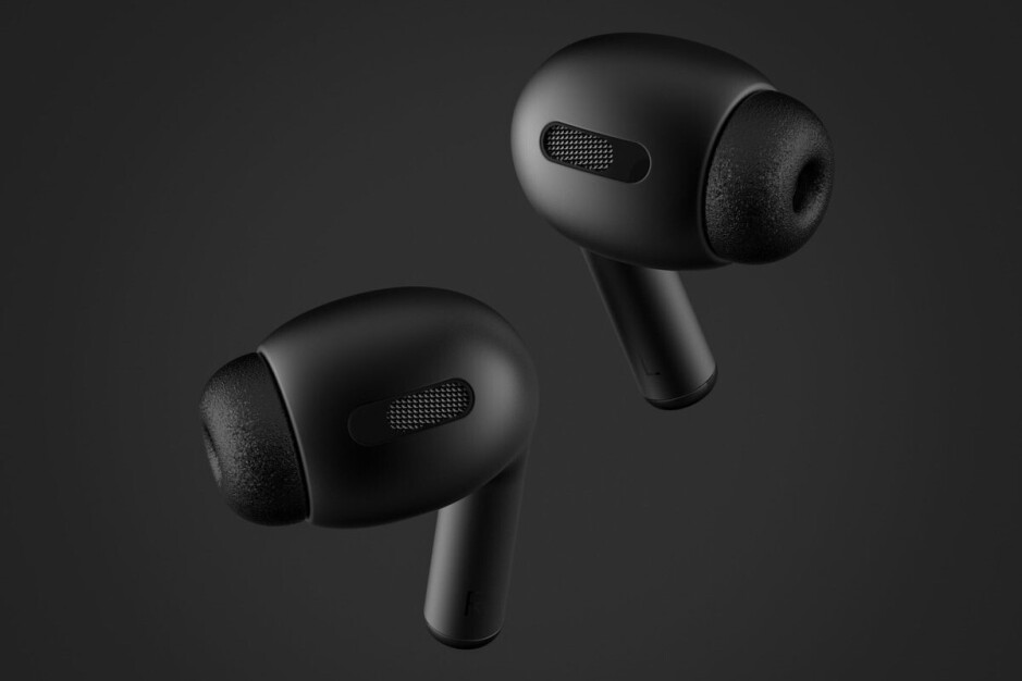 AirPods Pro concept render by Phone Industry - Apple AirPods Pro to arrive this month with high price tag, noise cancelation