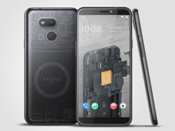 HTC keeps its promises, launches a second, cheaper blockchain smartphone