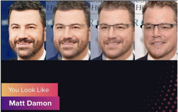 Jimmy Kimmel has fun with the Gradient app - Who is your celebrity doppelganger? This app will tell you although there are red flags