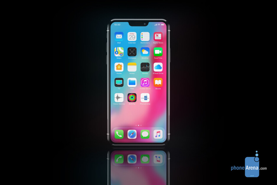 Smaller iPhone notch concept render - 2020 iPhones being tested with 'a few' different notch and Face ID setups