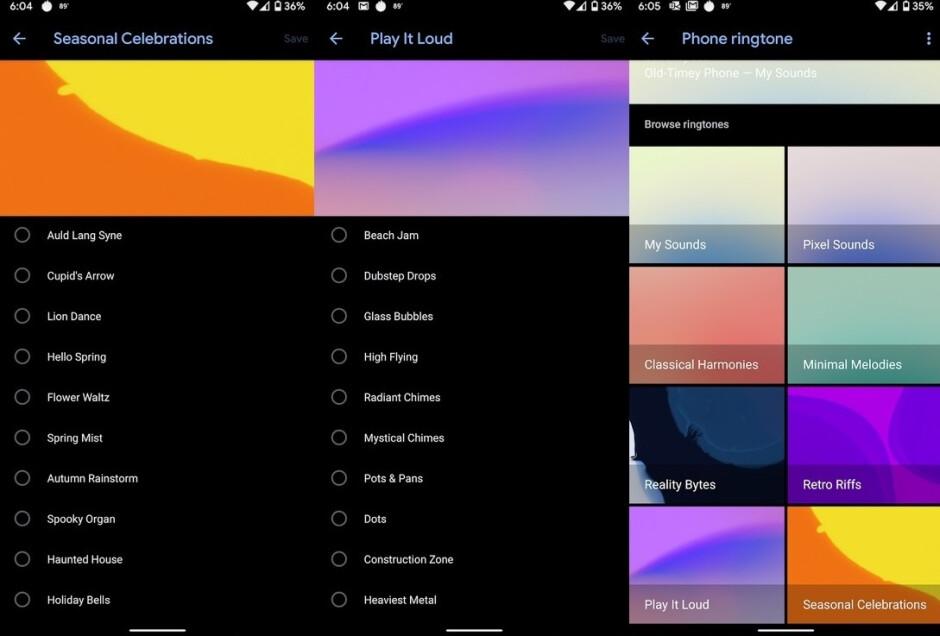 Pixel users get more ringtones, notification tones and alarm tones to choose from - Update to Google Sounds app adds new ringtones for Pixel phones