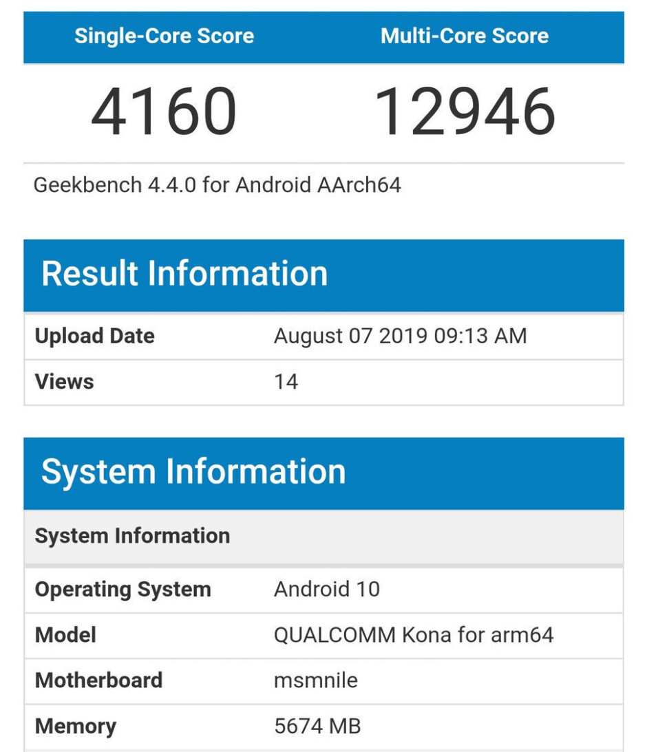 The Exynos 990 benchmarks will likely be similar to what the Snapdragon 865 here scores, a bit lower than A13 - Samsung's Exynos 990 already beats the A13 or Snapdragon 855 - a chipset comparison