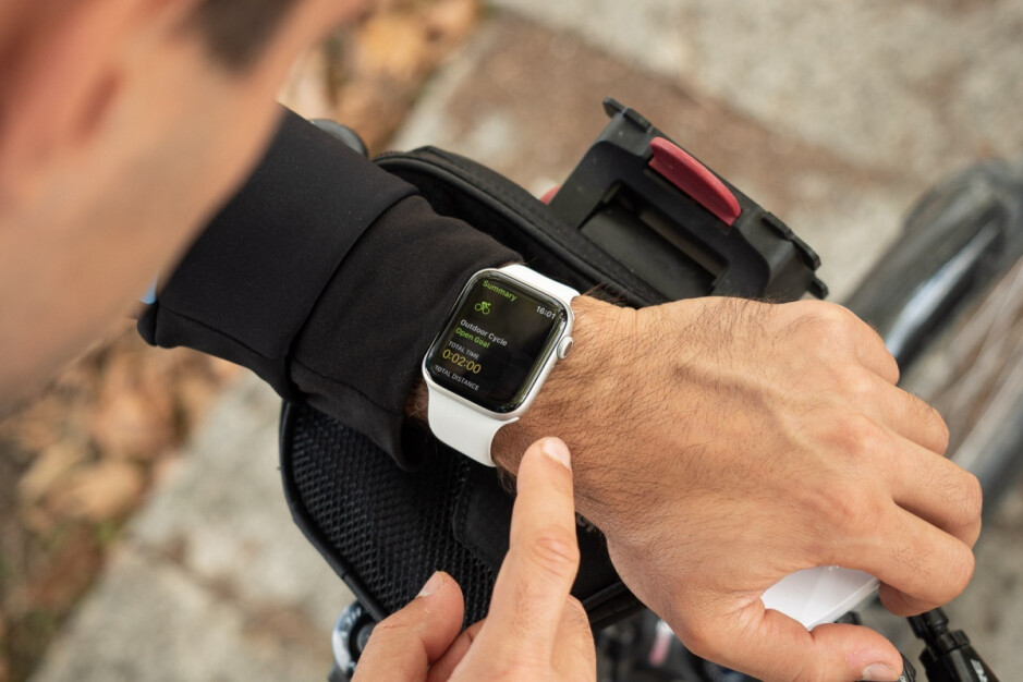 The Apple Watch Series 5 is a little slimmer and sleeker - Xiaomi's Apple Watch clone with Wear OS shows off its unoriginal design ahead of launch