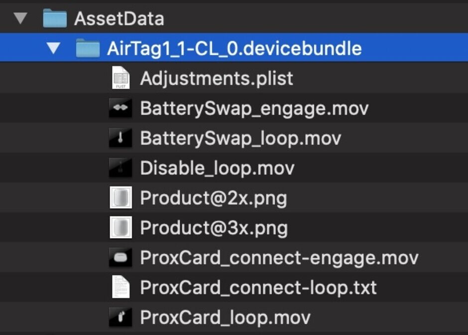 Hidden file in iOS 13.2 reveals the AirTag name - Hidden folder in iOS 13.2 reveals Apple's AirTag tracking accessory