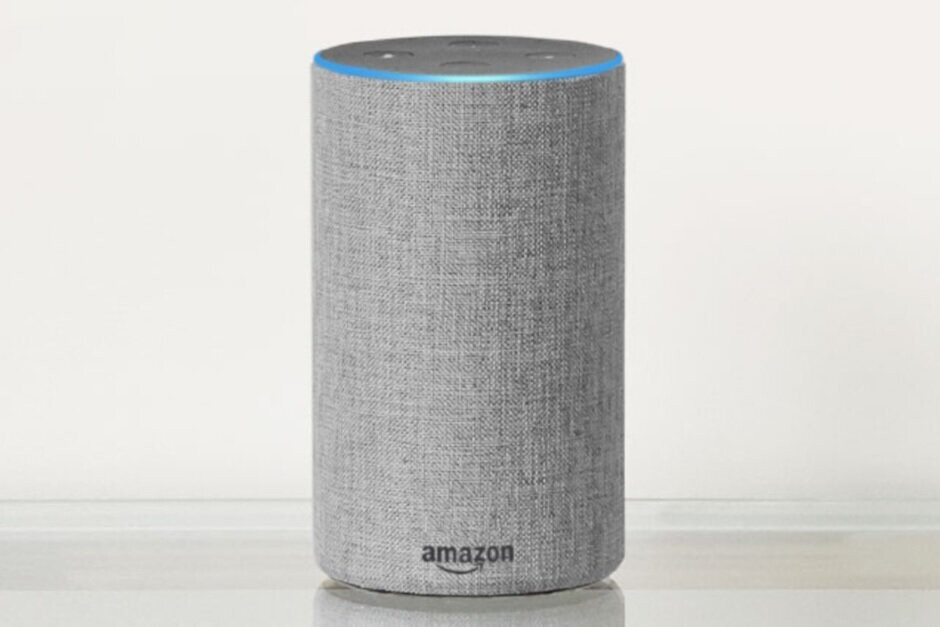 Recordings made from a smart speaker like the Echo in this photo could be used as evidence in a murder trial - Alexa might determine whether an accused murderer goes free