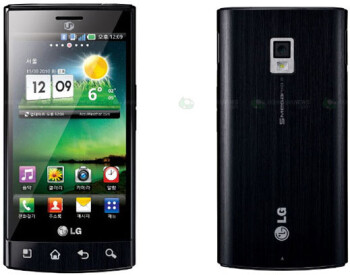 The super-fast LG LU3000 now officially unveiled in Korea, does full HD video