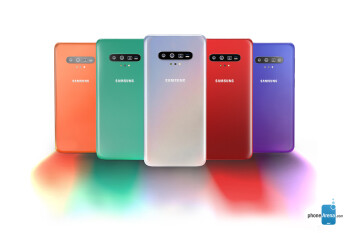Samsung Galaxy S11 concept render - The Samsung Galaxy S11 series could introduce huge battery upgrades