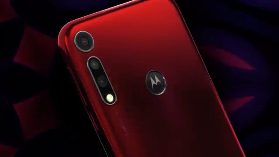 Behold the unreleased Moto G8 in leaked promotional material
