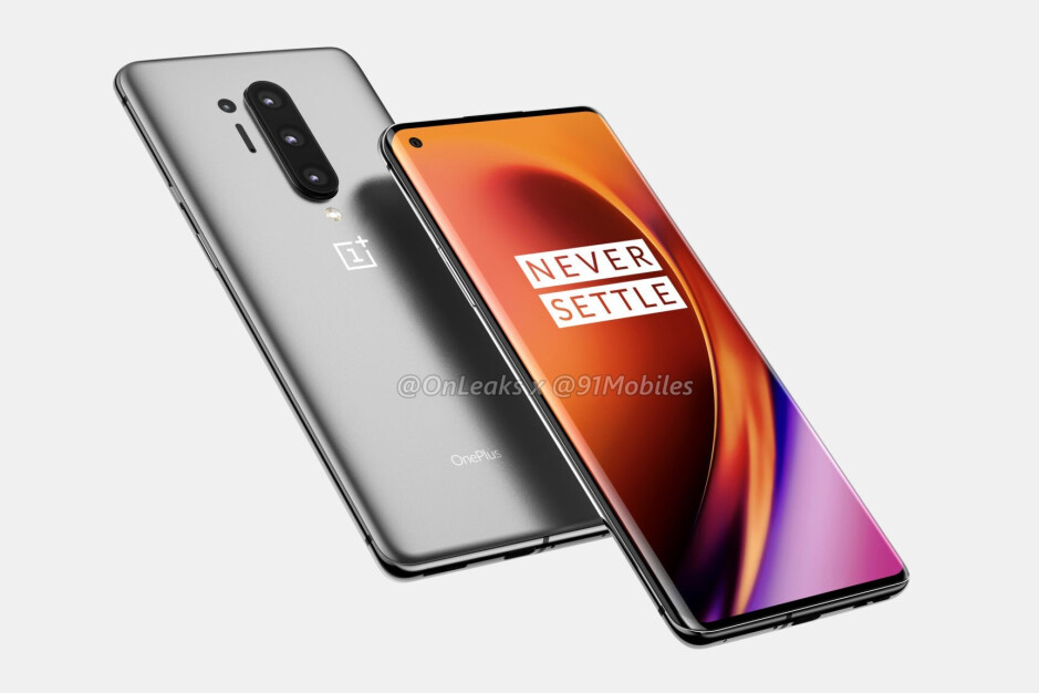 OnePlus 8 Pro CAD-based render - The OnePlus 8 Pro may feature a super smooth 120Hz display