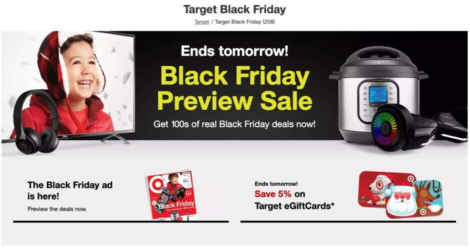 Some of Target's best Black Friday 2019 deals are available today and tomorrow