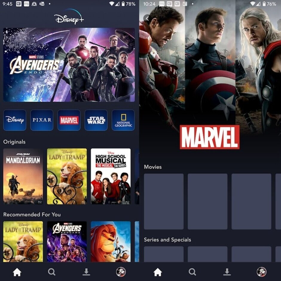 Disney+ has everything a fan could want although no one wants to see the glitches on the right - It's like a candy store for fans, but Disney+ launches with some issues