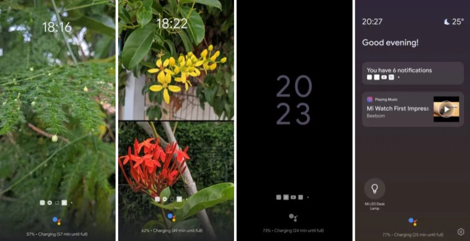 Google Assistant Ambient Mode on a smartphone; image credit 9to5Google - Google widens rollout of feature that turns your Android phone into a smart display