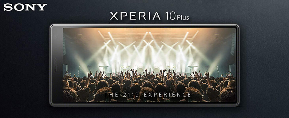 The Sony Xperia 10 Plus has a tall and thin display, great for streaming video - Sony Xperia 10 Plus and its large cinematic display on sale at Amazon, B&H