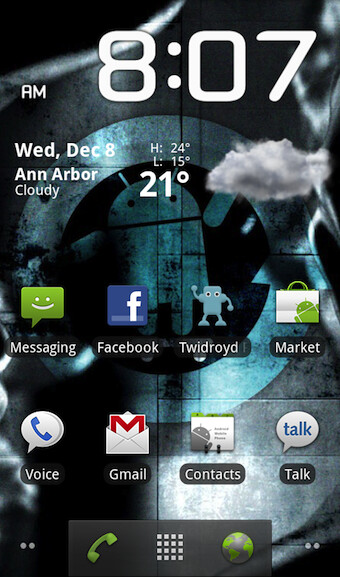 Gingerbread Launcher gives Android 2.2 users a taste of 2.3