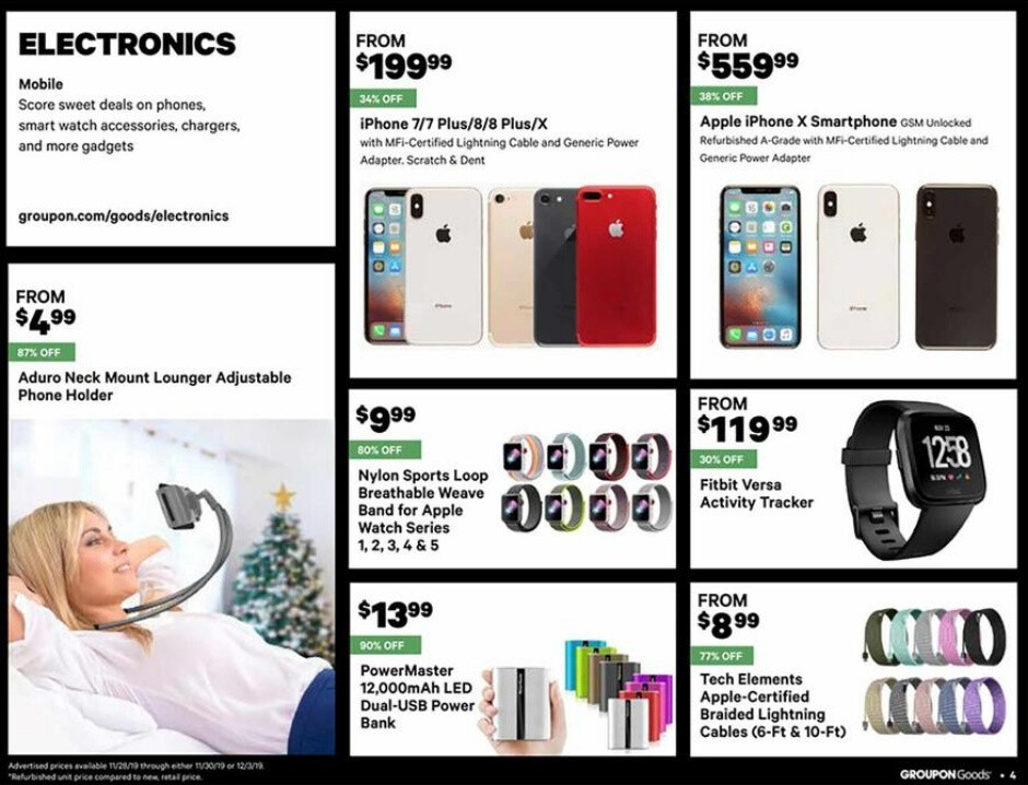 A huge number of iPhone models will be discounted at Groupon for Black Friday