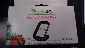 Bluetooth swivel dock for the T-Mobile myTouch 4G is selling for $49.99 at some stores