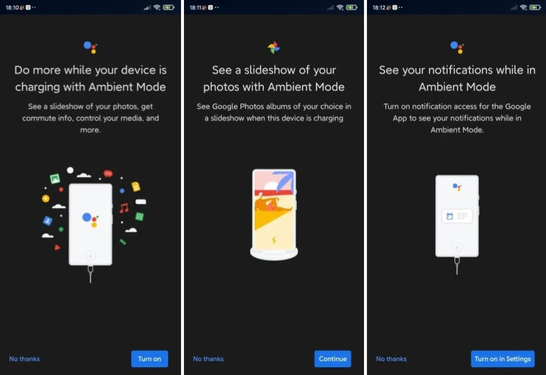 Google Assistant Ambient mode roles out to select devices