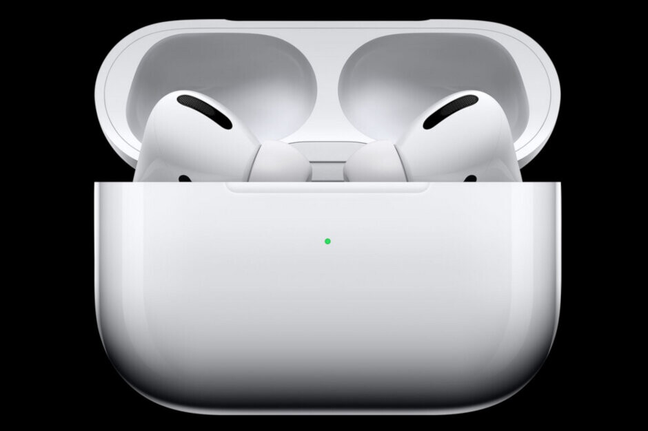 The AirPods Pro in their wireless charging case - Apple asks little known Chinese supplier to double AirPods Pro production