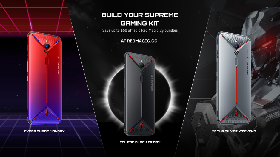 This Black Friday, get a Snapdragon 855+ flagship gaming phone for less than $500
