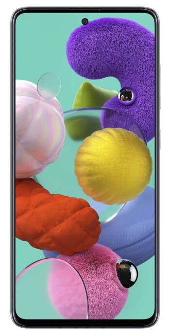 Mid-range Galaxy A51 shows off its premium looks in leaked press shot