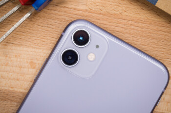 The iPhone 11's rear camera setup - The Galaxy Note 10 Lite could have a square camera 'like the iPhone 11'