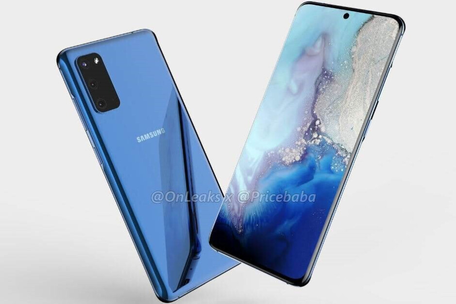 Samsung Galaxy S11e concept render based on CAD files - The Galaxy S11 will reportedly introduce a huge video recording upgrade