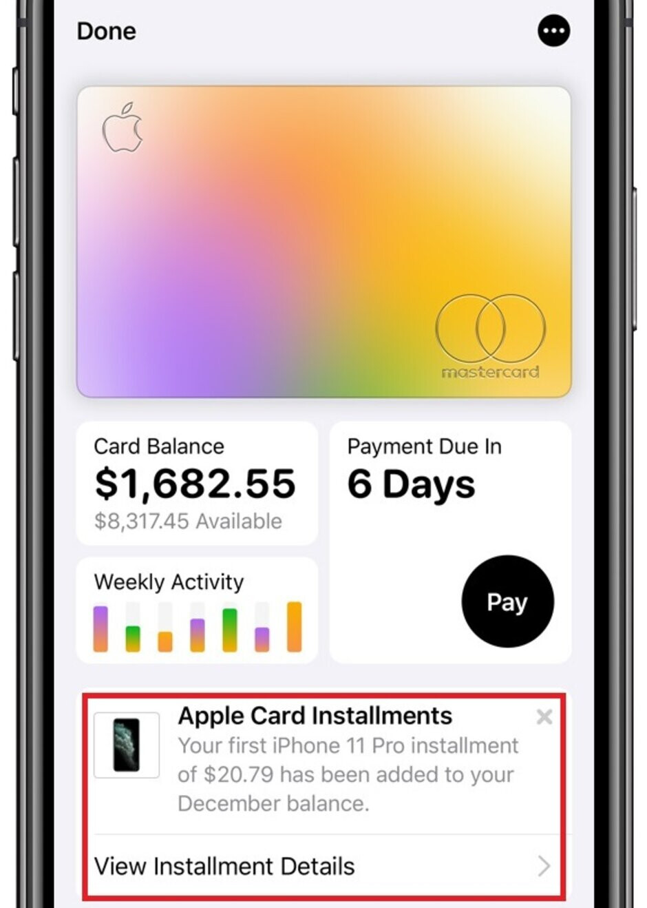 Use the Apple Card at the Apple Store and pay off your new iPhone by making 24 interest-free payments - Apple Card holders can buy an iPhone and make 24 monthly interest-free payments