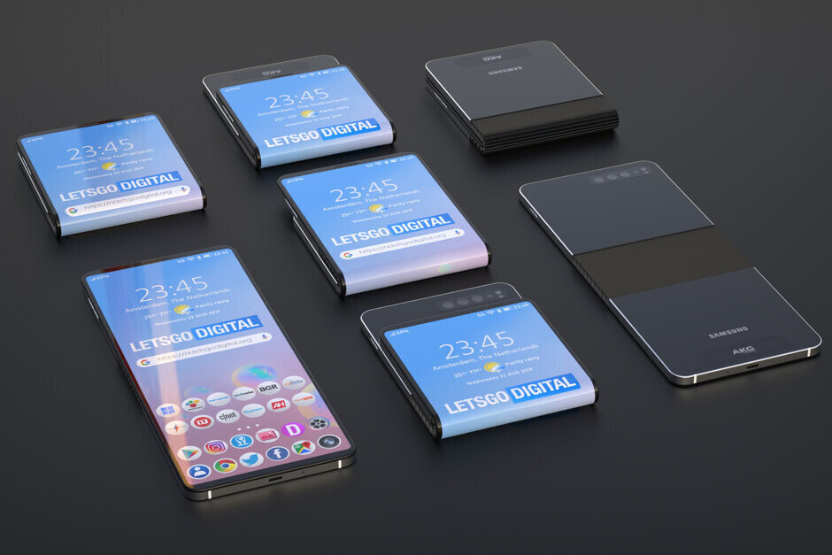 Samsung's foldable clamshell phone could be unveiled on February 18th - Samsung tipped to unveil the Galaxy S11 and its next foldable on the very same day