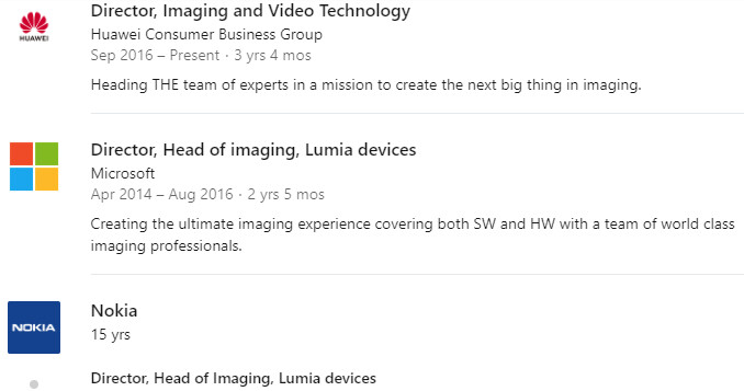 The Nokia PureView tech creator is now head of Huawei's Imaging and Video dept. - Galaxy S20 Ultra camera preview, from 108MP 'Bright Night' to 100x 'Space Zoom'