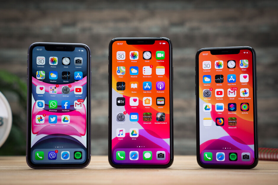 The iPhone 11 and iPhone 11 Pro series - Apple's iPhone shipments declined massively in China last month