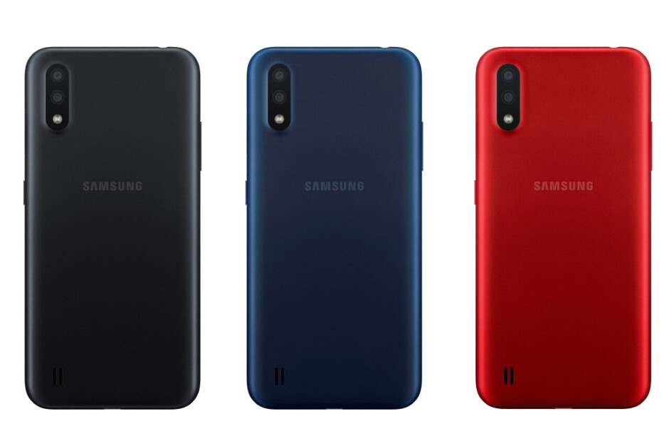 Entry-level Galaxy A01 goes official with dual-camera setup, headphone jack
