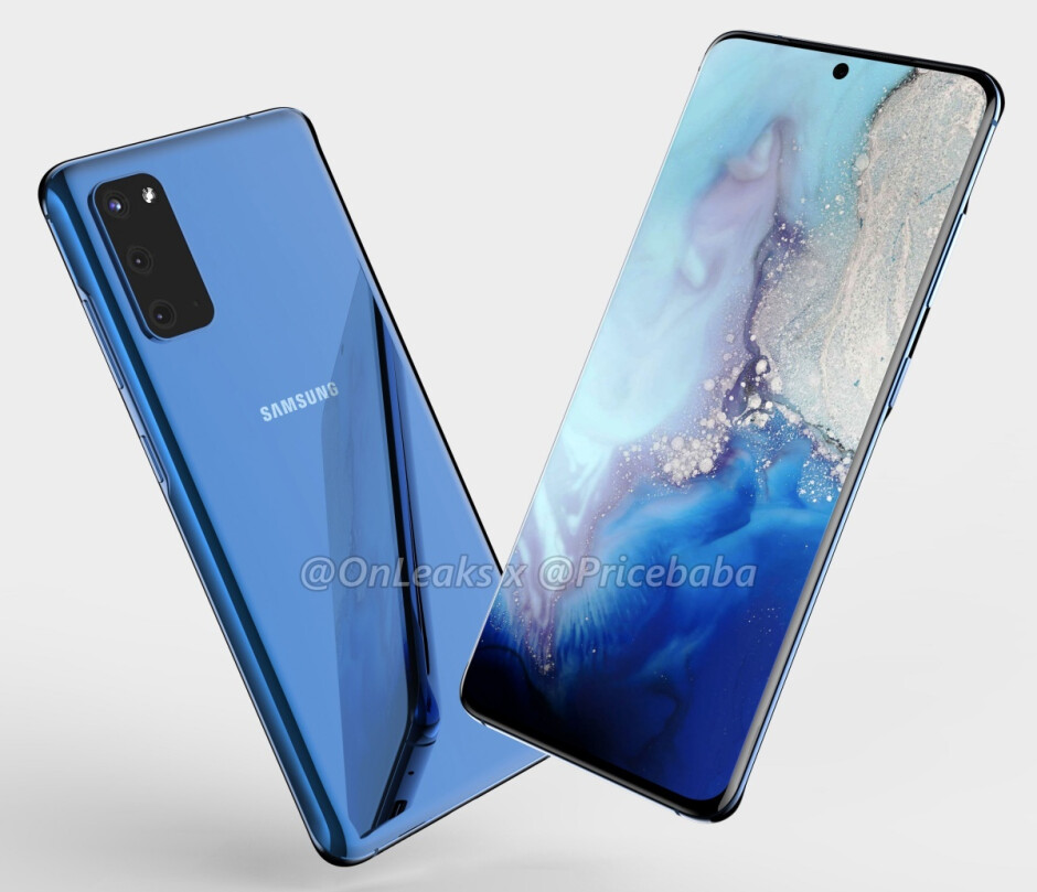 Leaked Galaxy S11e renders - Samsung is about to make a big mistake with the Galaxy S11e