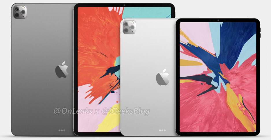 Alleged iPad Pro 2020 family - Here's what the Apple iPad Pro 2020 series (probably) looks like