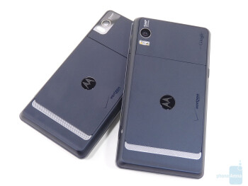 Motorola DROID 2 Global (right, top) and Motorola DROID 2 (left, bottom)