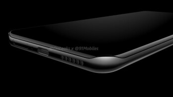 Render shows one of the lips that will be used on the P40 Pro to protect the quad-edge display - Leaked production line photo shows rear camera housing for Huawei P40