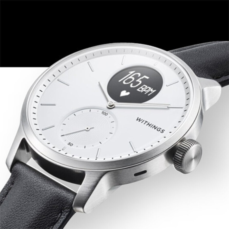 Withings' new Scanwatch brings a feature never before seen in a smartwatch