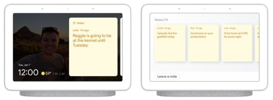 Google Assistant can create sticky notes for your smart display - New features for Google Assistant announced at CES