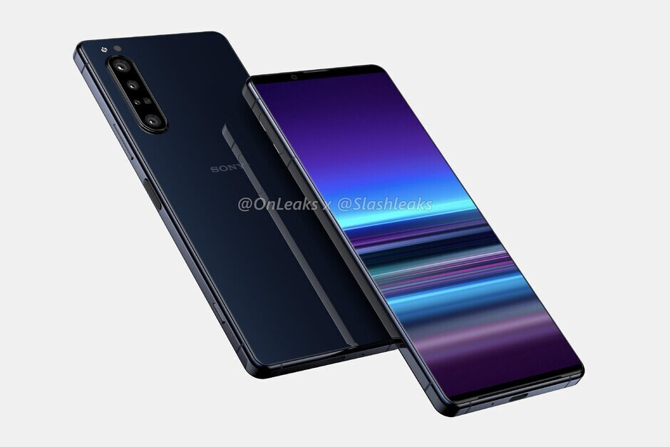 """Sony Xperia 1.2 render""""&nbsp - Sony Xperia 1.2 (5 Plus)/(Sony 2020 flagship) rumor review: Design, specs, price, release date"""