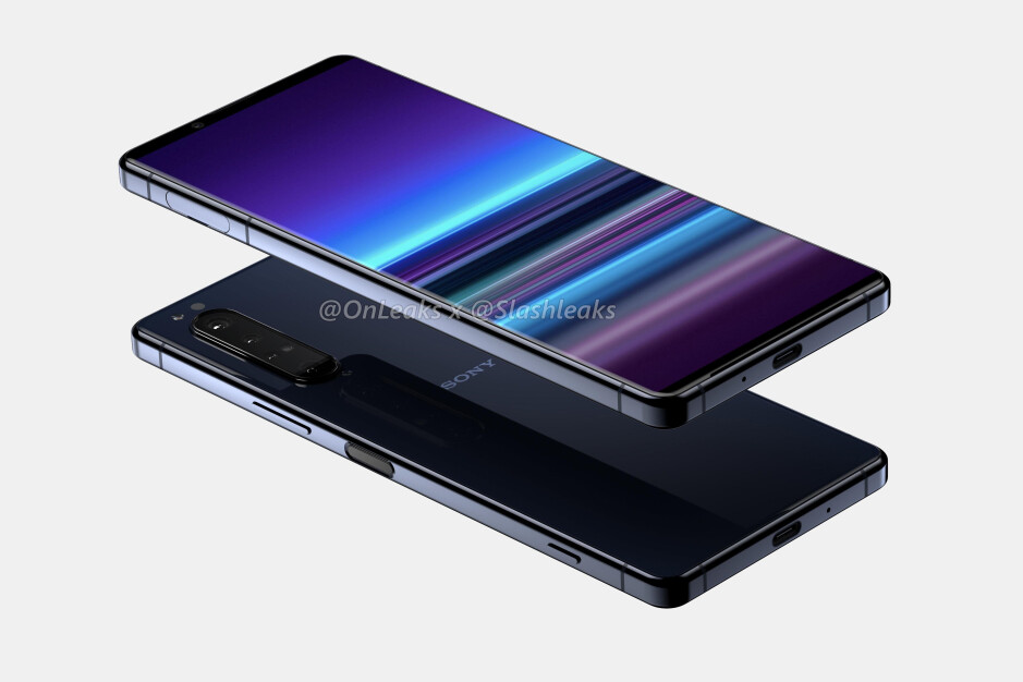 Sony Xperia 1.2 render - Sony Xperia 1.2 (5 Plus)/(Sony 2020 flagship) rumor review: Design, specs, price, release date