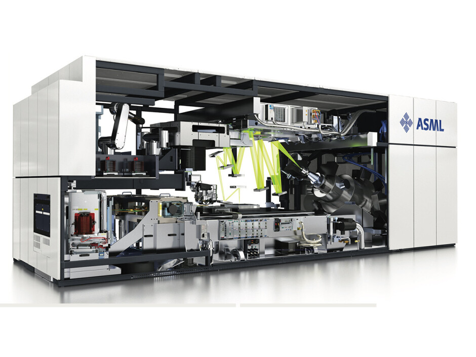 An ASML EUV machine like the one a Chinese chip manufacturer was banned from purchasing - Trump administration convinced the Dutch not to ship advanced chip-making equipment to China