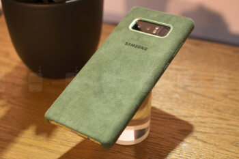 Samsung's official Alcantara case for the Galaxy Note 8 - American S20 (S11) model cases pass the FCC, exclusive Danish fabric for S20 Ultra