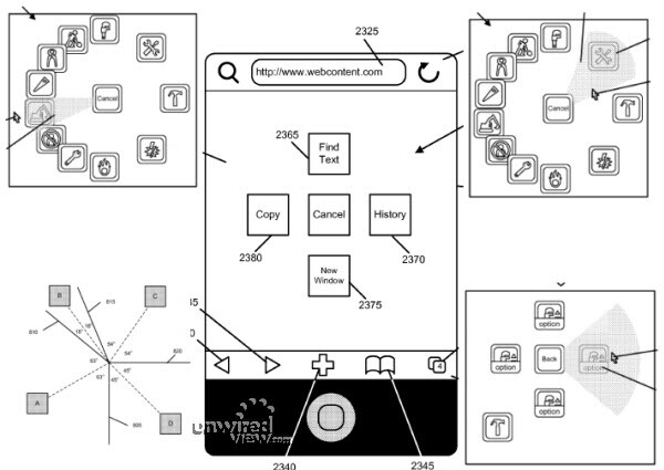 A new patent by Apple hints at profound interface changes possibly starting with the iPhone 5
